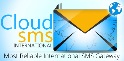 Register for CloudSMS to Experience CloudSMS